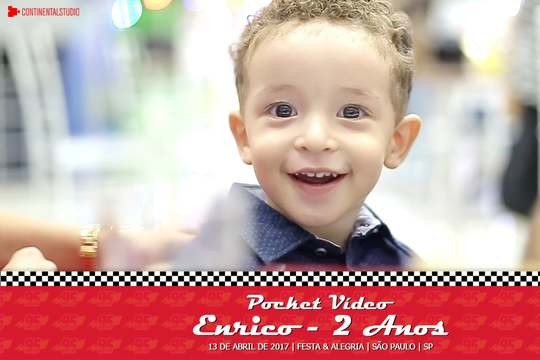Capa do post Kids Pocket Video do Enrico 2 anos