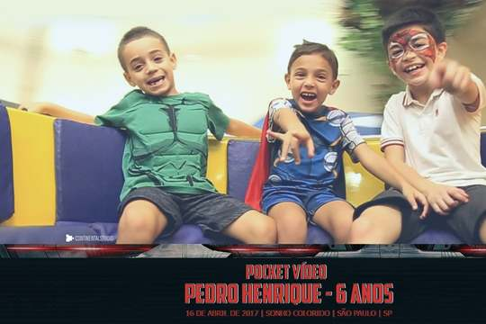 Capa do post Kids Pocket Video do Pedro Henrique 6 anos